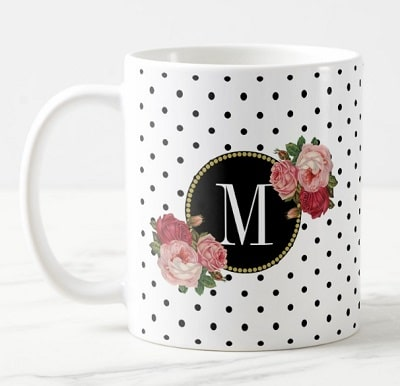 Monogram Coffee Mug - Gifts for Women In Their 40s