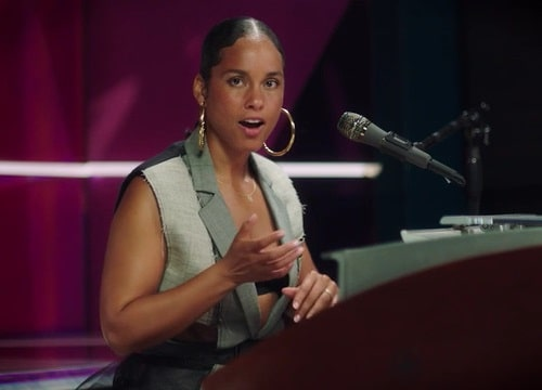 Singing Masterclass with Alicia Keys