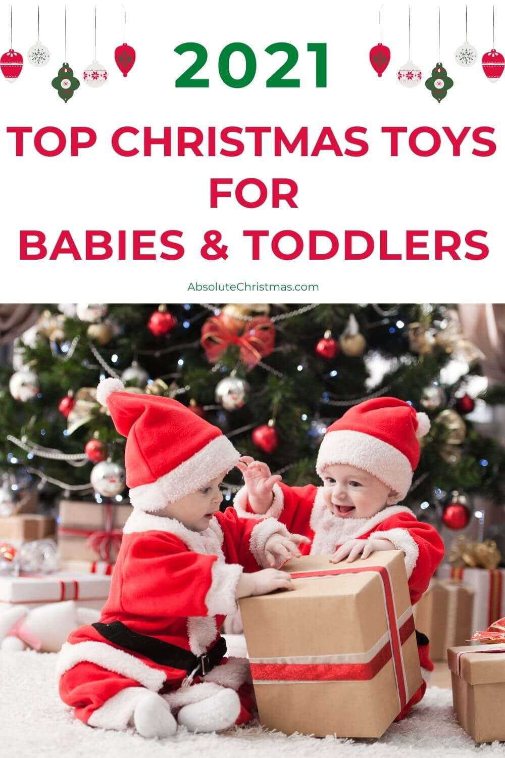 Top Christmas Toys for Babies and Toddlers - 2021 Holiday Toy Guide