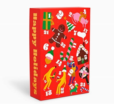 24 Days Of Holiday Socks Advent Calendar