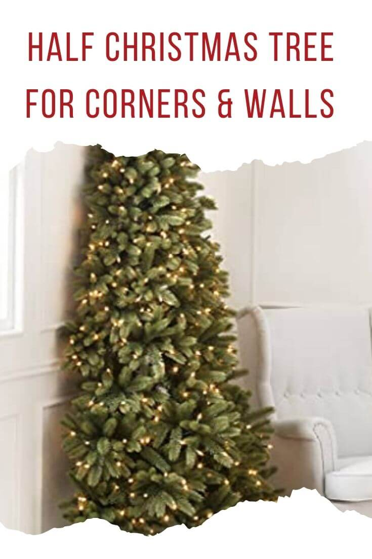 Best Half Christmas Trees for Walls and Corners