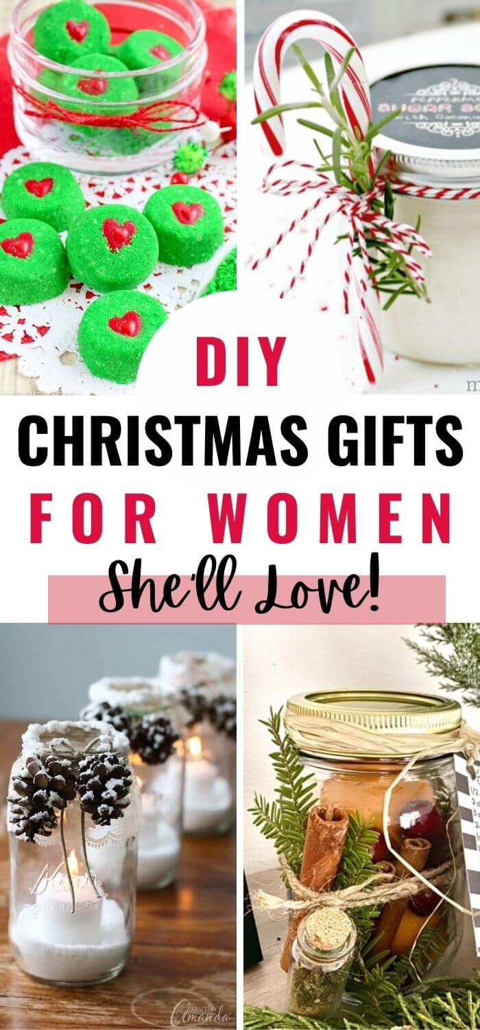 DIY Christmas Gifts for Women