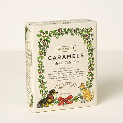 Handcrafted Caramel Advent Calendar