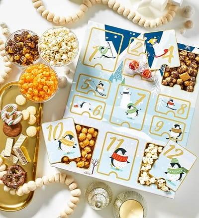 Holiday Popcorn Advent Calendar