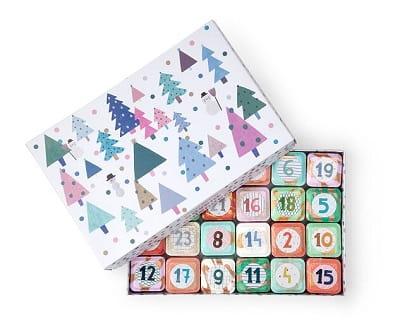 Shower Steamer Advent Calendar