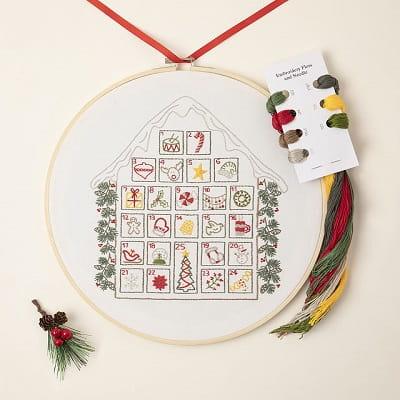 Stitch a Day Advent Embroidery Calendar